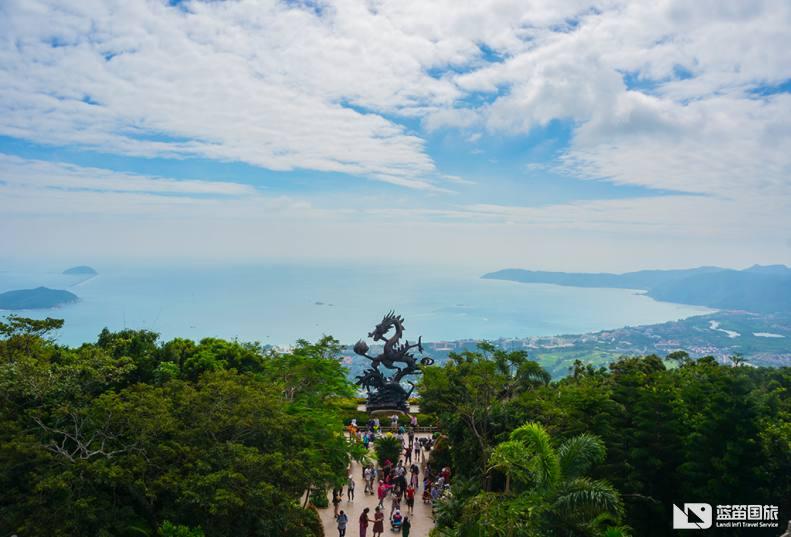 亚龙湾热带天堂森林公园01
